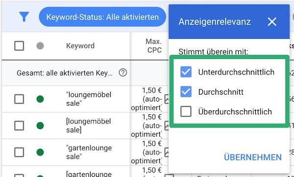 10_Google_Anzeigenrelevanz_spalten