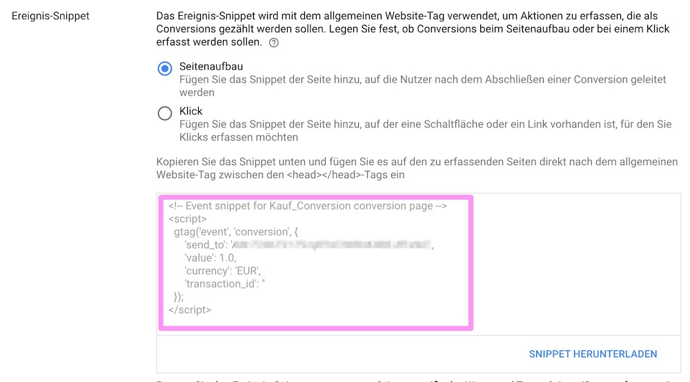 5_Google_Conversion_ereignis_snippet